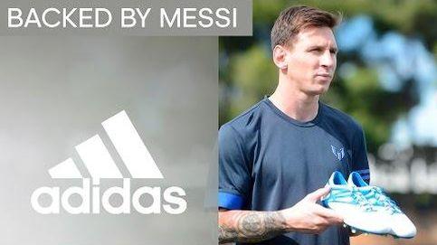 Messi apadrina a diez jugadores