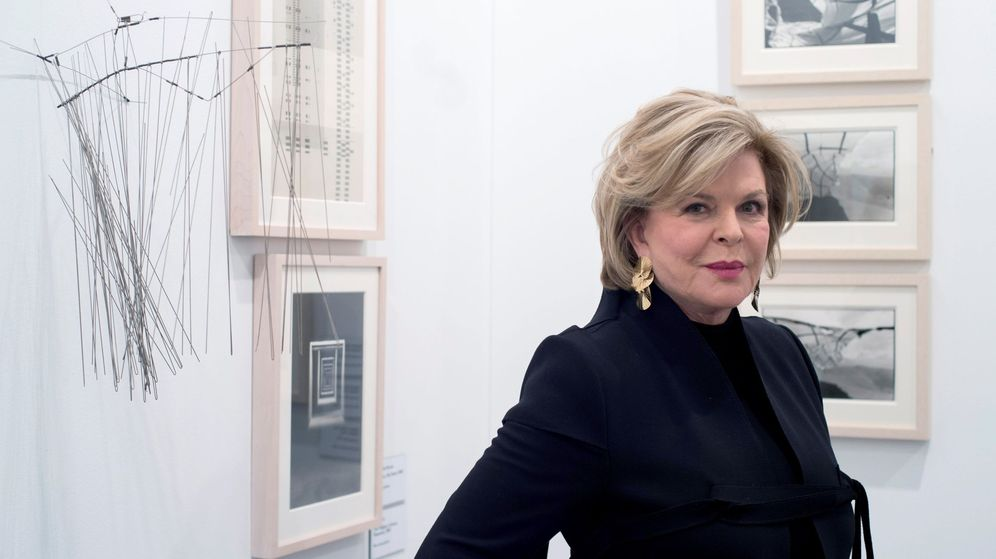 Foto: La coleccionista Ella Fontanals Cisneros. (Fernando Villar / EFE)