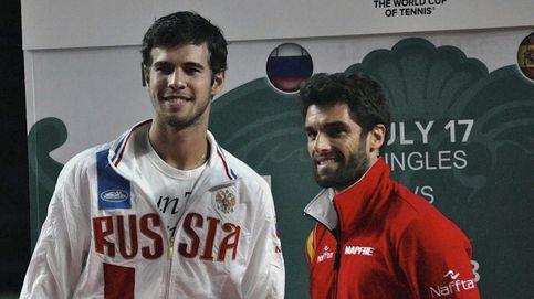 Así vivimos la victoria en Copa Davis de Andújar ante Khachanov