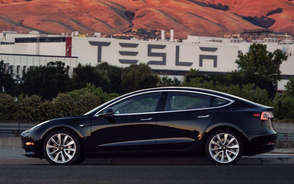 Foto: Así es el nuevo Tesla Model 3