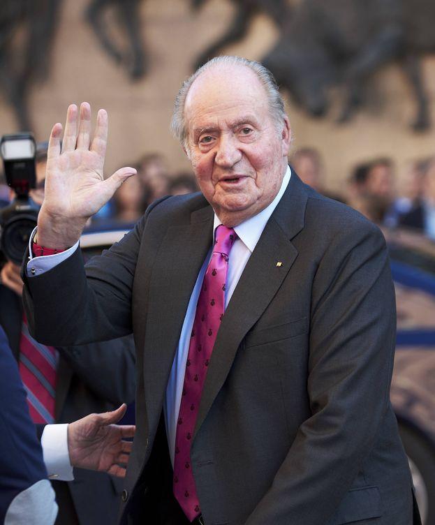Foto: El rey Juan Carlos en una imagen de archivo. (Getty)