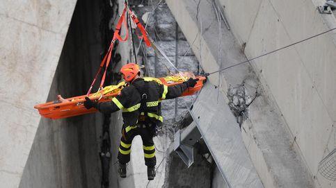 Servicios de rescate tras el derrumbe en Italia