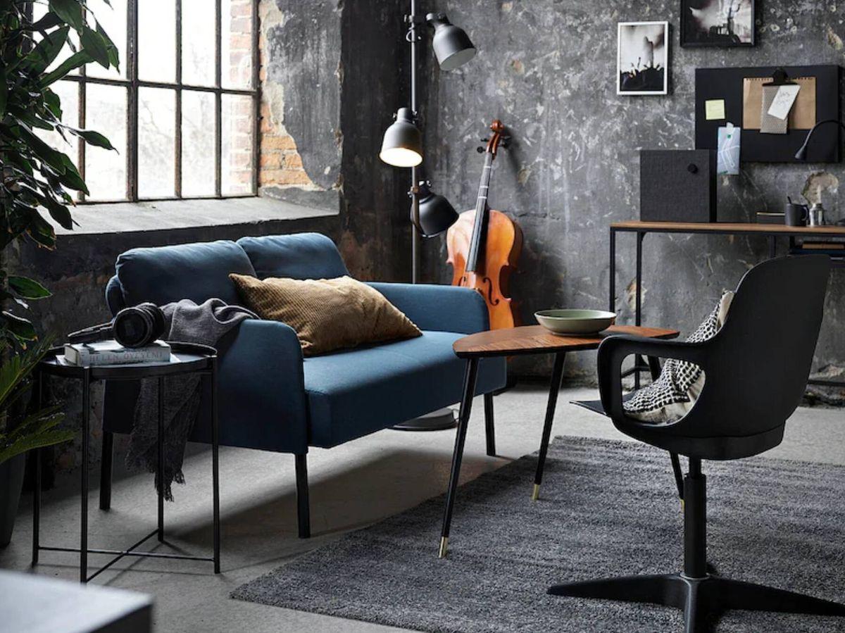 Foto: Sofá de Ikea para salones pequeños. (Cortesía)