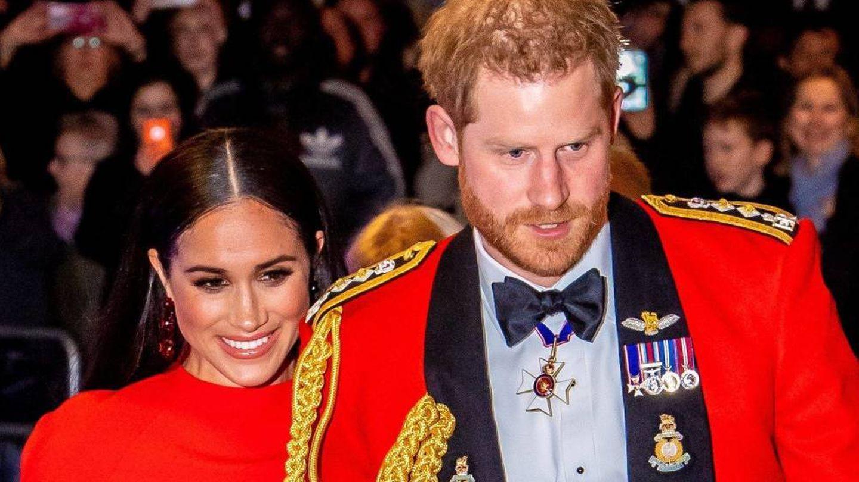 El príncipe Harry y Meghan Markle, en marzo de 2020. (Cordon Press)