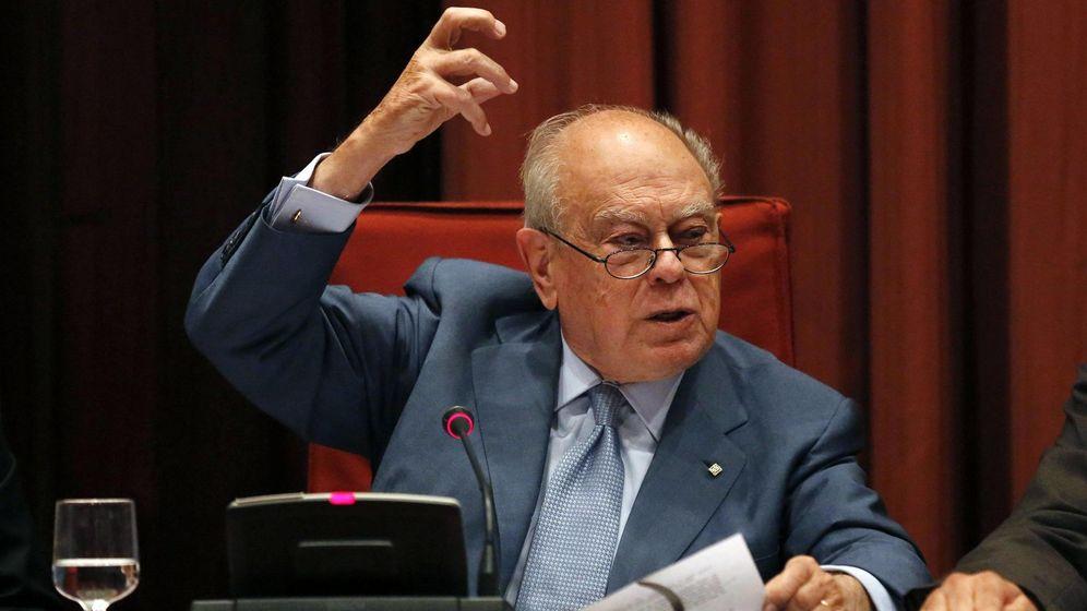 Foto: Jordi Pujol, durante su comparecencia en el Parlamento catalán. (Reuters)