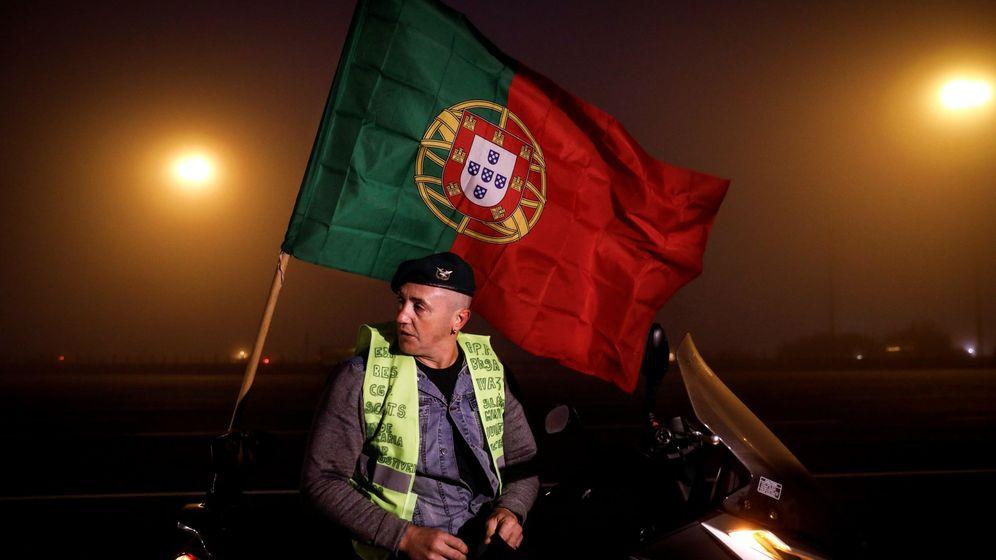 Foto: Protesta en Portugal. (Reuters)