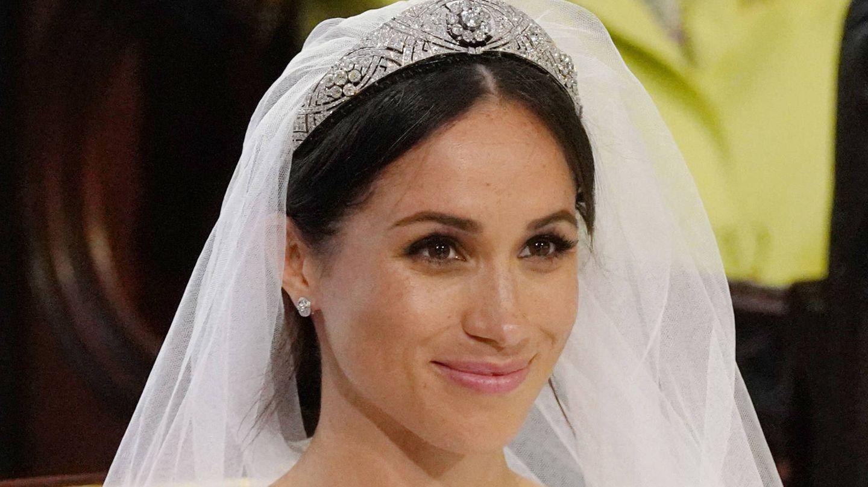 Detalle de la tiara. (Getty)