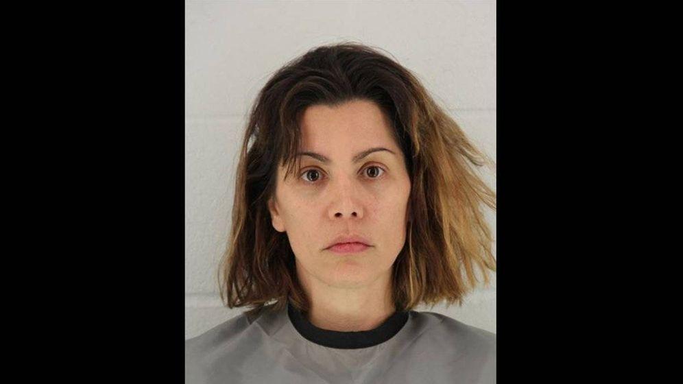 Foto: Mollie Fitzgerald, en la imagen de la oficina del 'sheriff' del condado de Johnson, tras su detención.