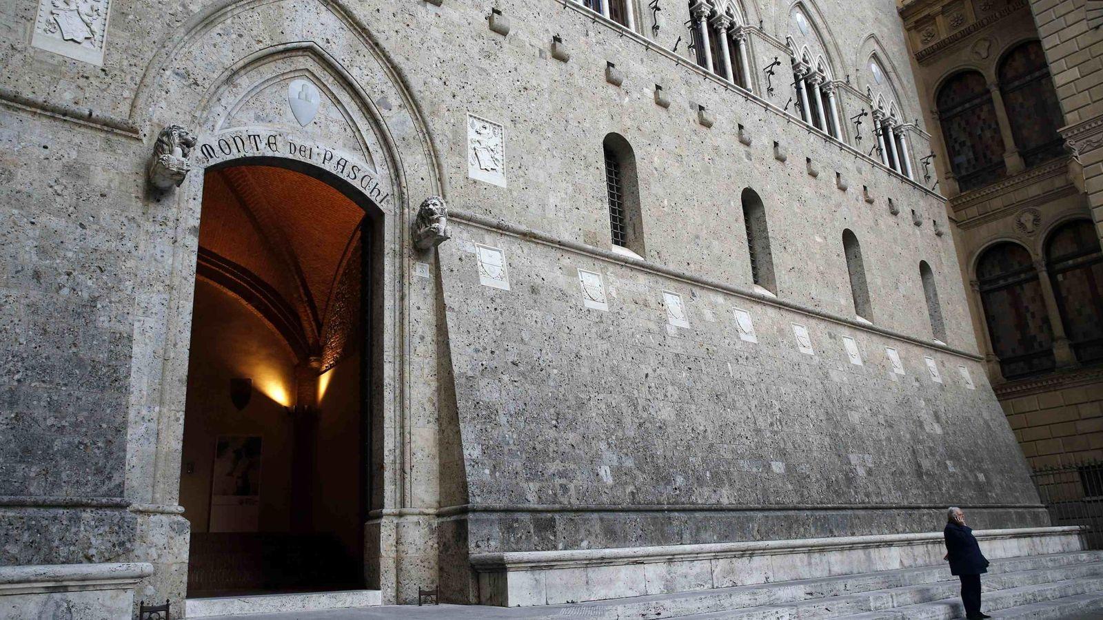 Foto: La sede central de Monte dei Paschi di Siena. (Reuters)