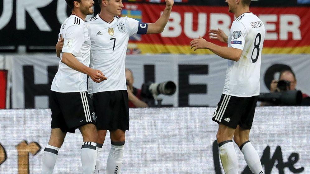 Foto: Draxler, suplente normalmente, será capitán de una Alemania sin estrellas. (EFE/EPA)