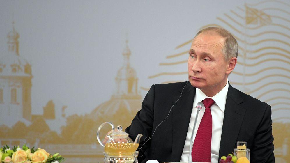 Foto: Vladimir Putin en el Foro Económico Internacional. (EFE)