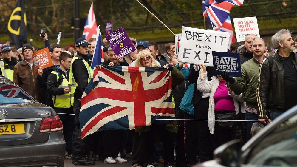 Foto: Marcha pro Brexit del UKIP. (Reuters)