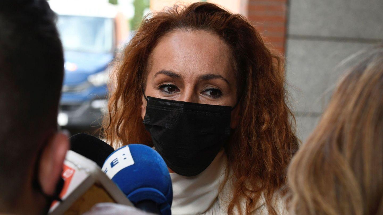 Rocío Carrasco, el pasado 30 de abril en su último juicio frente a Antonio David. (EFE)