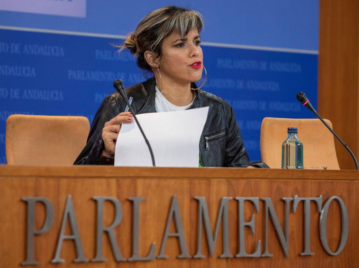 Foto: La líder andaluza de Anticapitalistas, Teresa Rodríguez. (EFE)