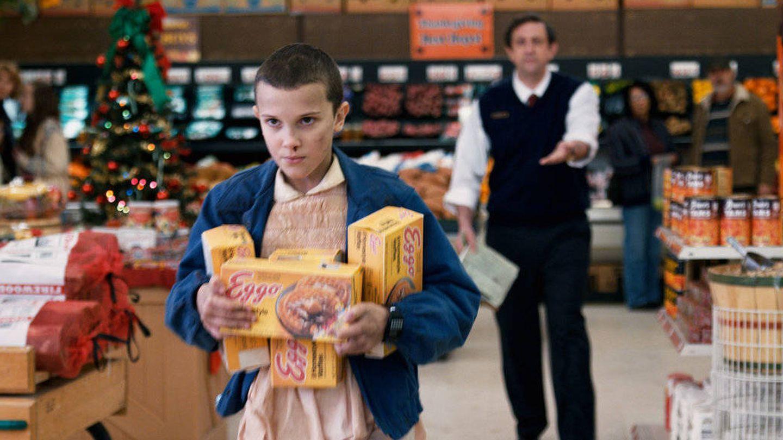 Eleven en Stranger Things. (HBO)
