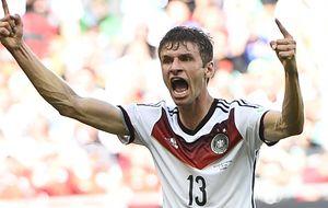 Müller, la apuesta de Van Gaal que mejoró Pep y que alaba Ronaldo