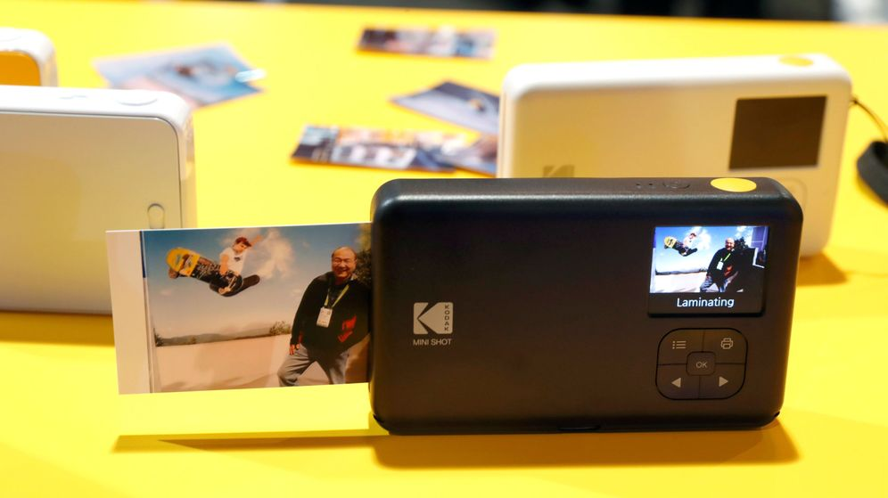 Foto: Cámaras de Kodak en el CES de Las Vegas. (Reuters)
