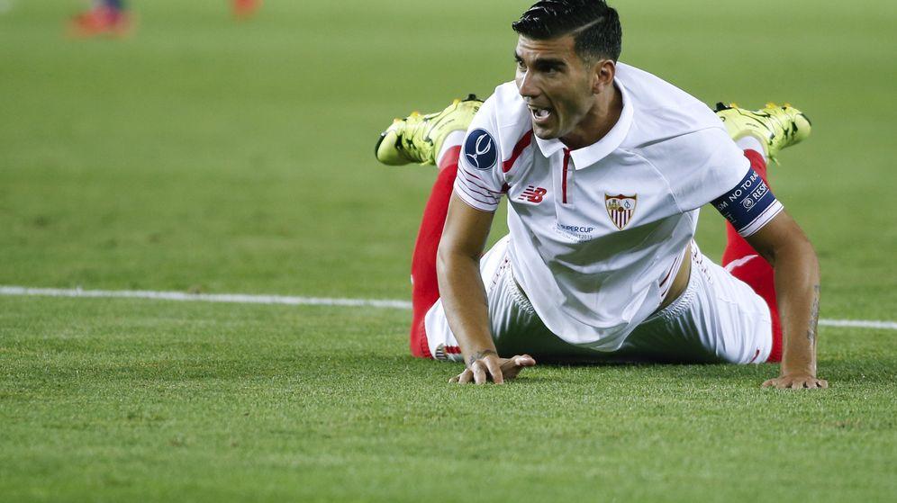 Foto: Reyes durante la Supercopa de Europa (Reuters).