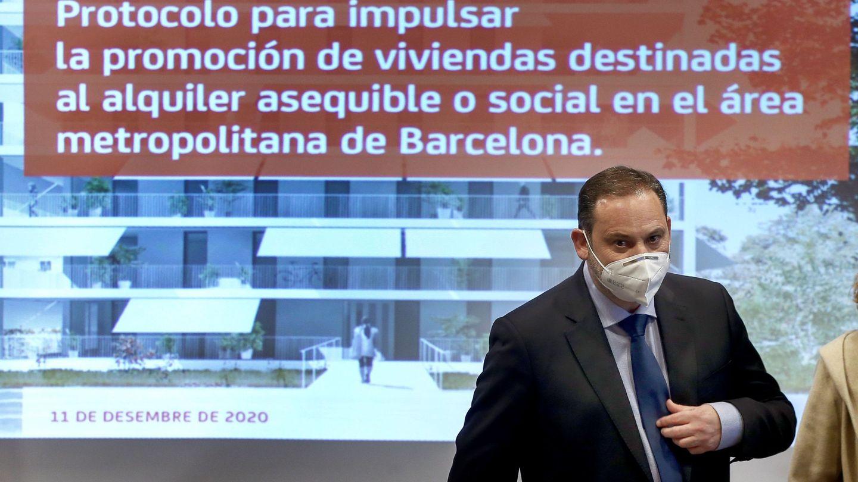 José Luis Ábalos, en un acto. (EFE)