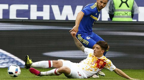 Del Bosque se queda con Bellerín a la espera de conocer la lesión de Carvajal