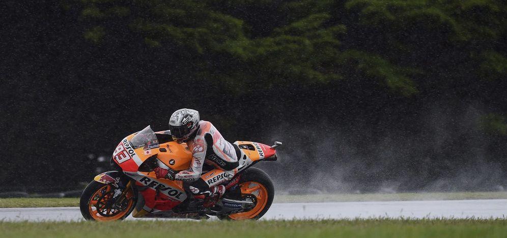 Foto: Marc Márquez hizo 'pole' en el Gran Premio de Australia (EFE)