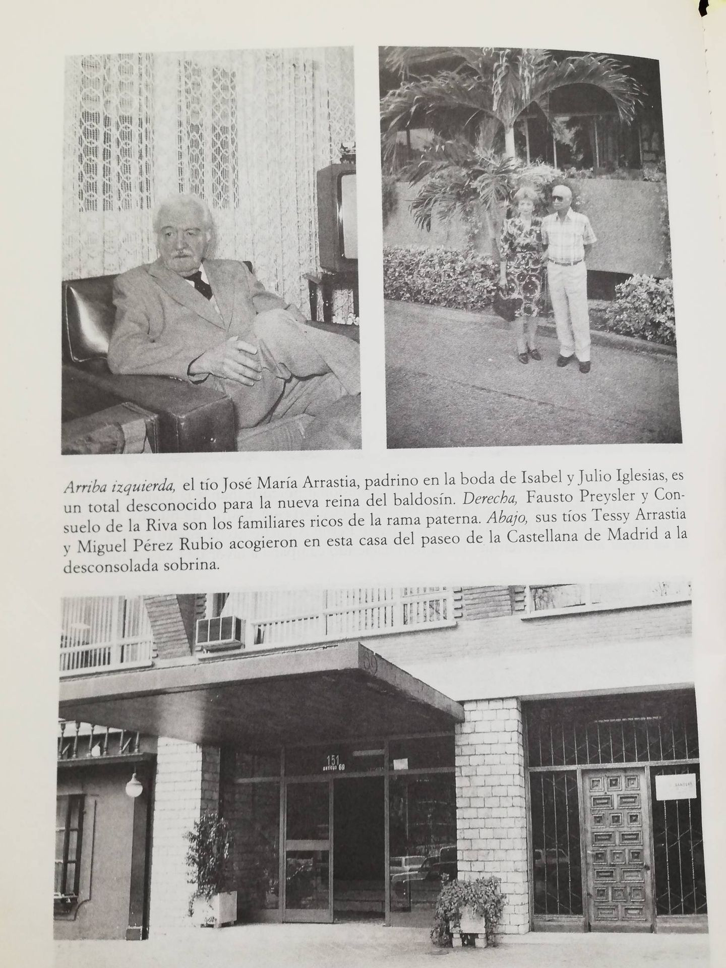 Interior del libro 'Isabel Preysler, reina de corazones'. (Ediciones B)