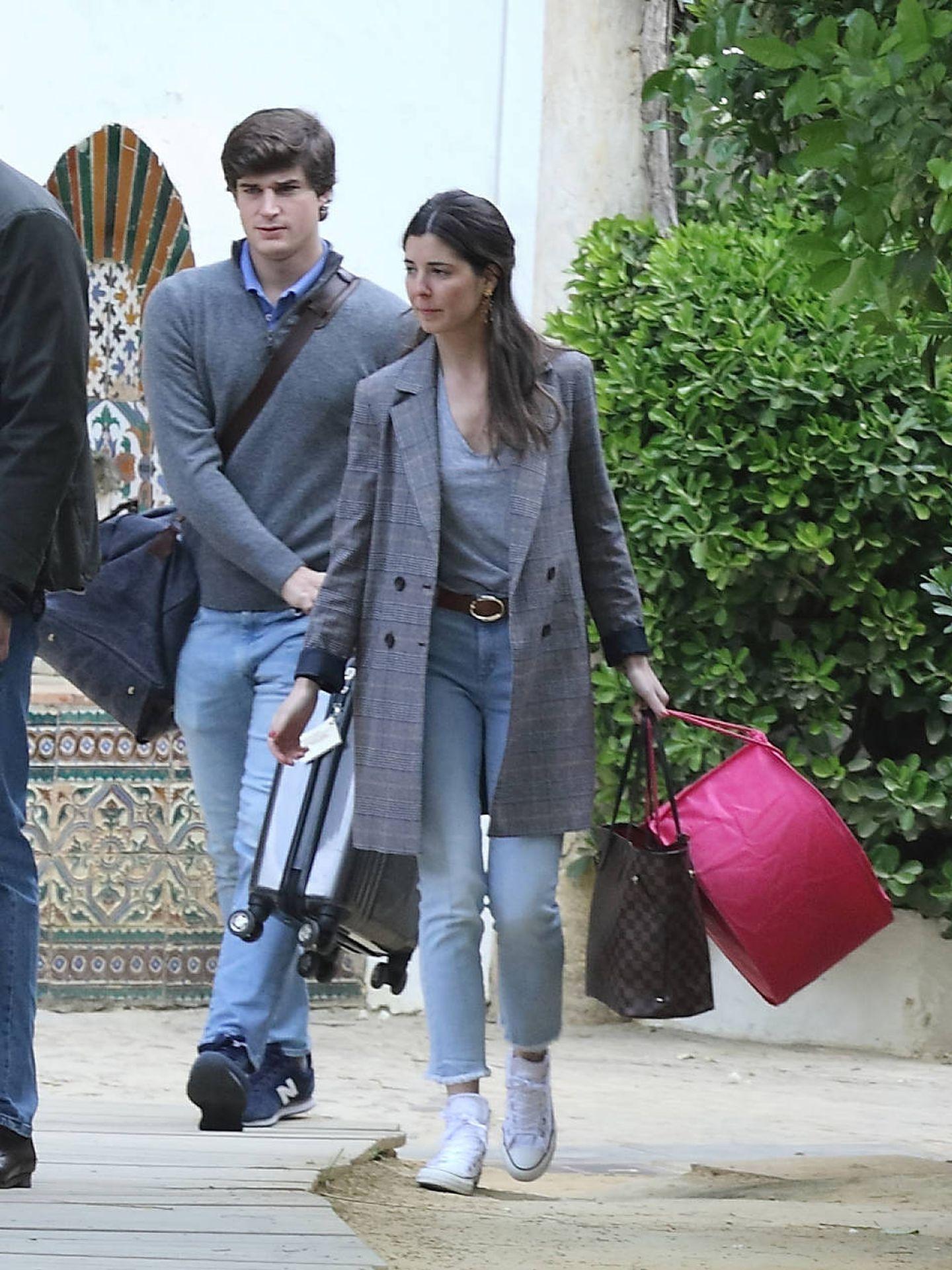 Carlos Fitz-James y Belén Corsini. (Lagencia Grosby)