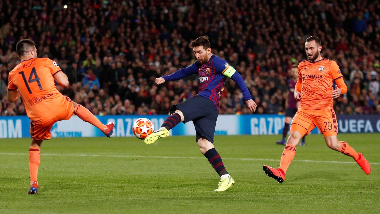 Foto: Champions league - round of 16 second leg - fc barcelona v olympique lyonnais