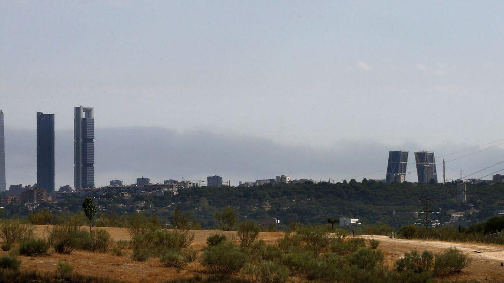 Foto: Madrid desde las afueras de la ciudad. (EFE)