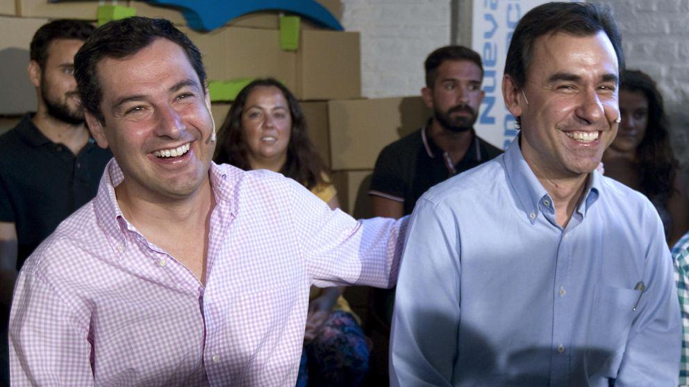 Juan Manuel Moreno refuerza la marca PP-A para arrinconar a Génova