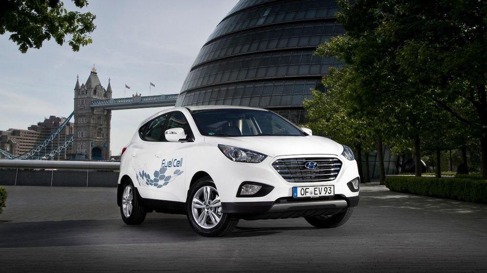 Foto: El Hyundai ix35 Fuel Cell ya circula por Europa