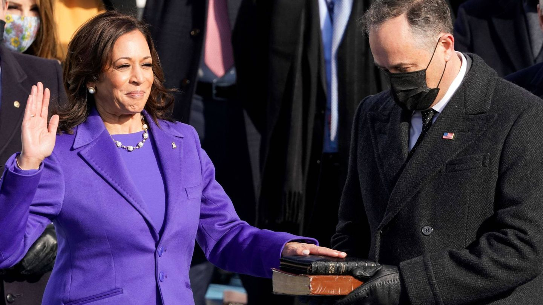 La vicepresidenta de Estados Unidos, Kamala Harris. (EFE)
