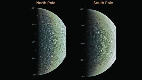 La misión Juno revela los ciclones gigantes de Júpiter