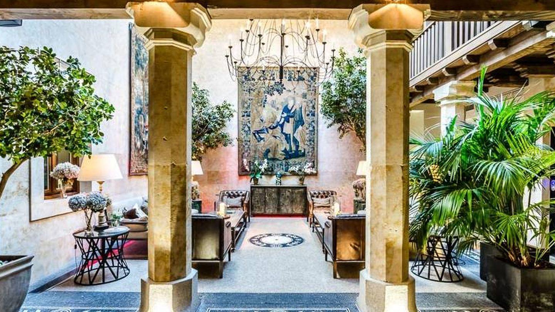 Un rinconcito del hotel Don Gregorio... y es todo así. (Cortesía)