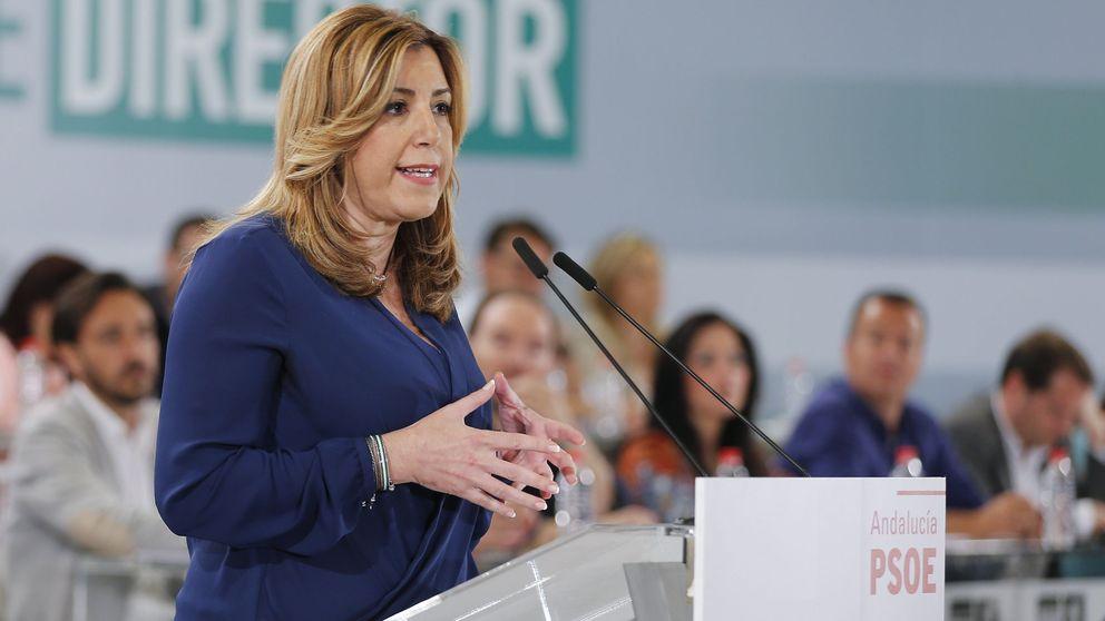 El PSOE andaluz prepara una campaña 'marca Susana'  con apoyo de los alcaldes