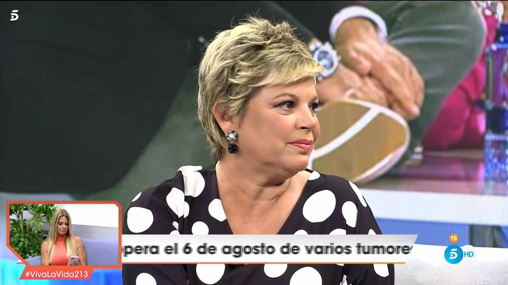 Foto: Terelu Campos, en 'Viva la vida'. (Telecinco)
