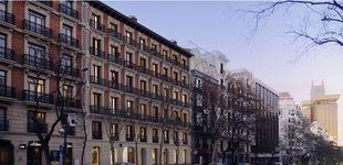 Post de Viviendas con terraza y piscina en un edificio histórico de la calle Génova