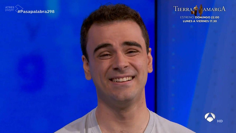 Pablo Díaz, en 'Pasapalabra'. (Antena 3)