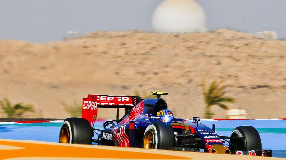Foto: Carlos Sainz este sábado en Bahréin (Efe)