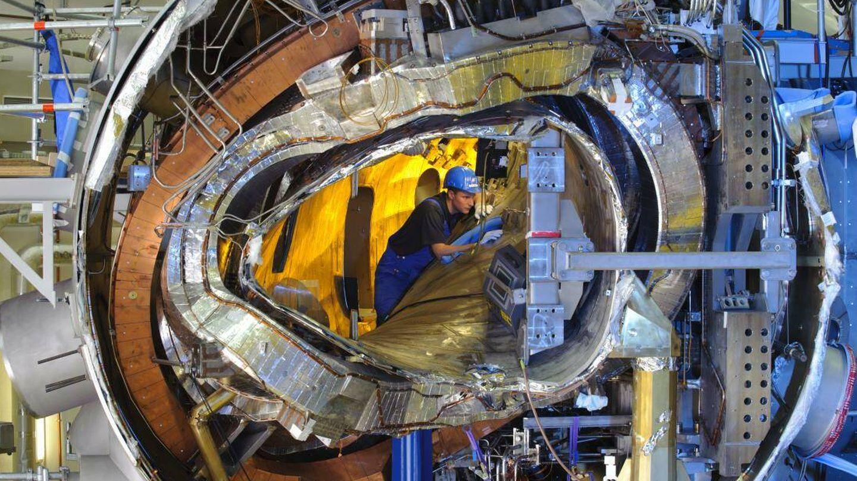 Corte transversal del Wendelstein 7-X (Instituto de física del plasma Max Planck)