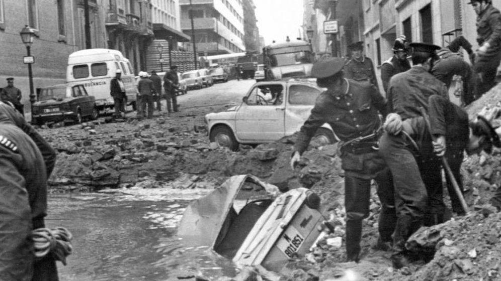 Foto: Atentado contra Carrero Blanco en 1973.