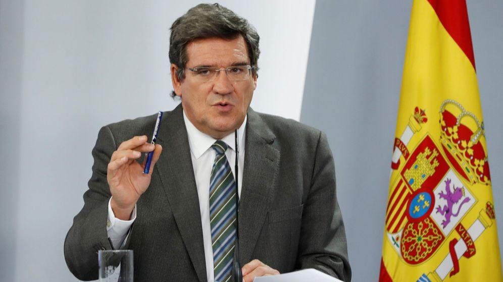 Foto: El ministro de Inclusión, Migraciones y Seguridad Social, José Luis Escrivá. (EFE)