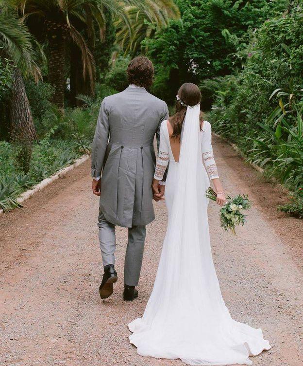 Foto:  Los recién casados, en una imagen del perfil de IG de Feliciano.
