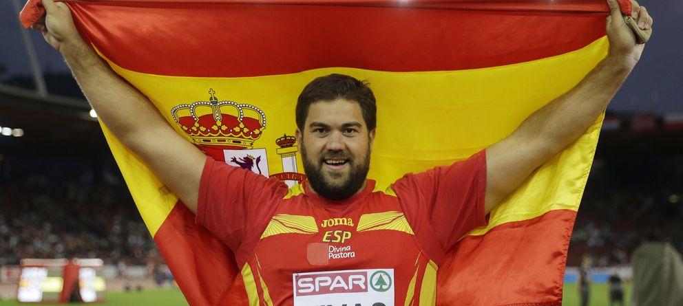 Foto: Borja Vivas, tras proclamarse subcampeón (AP).