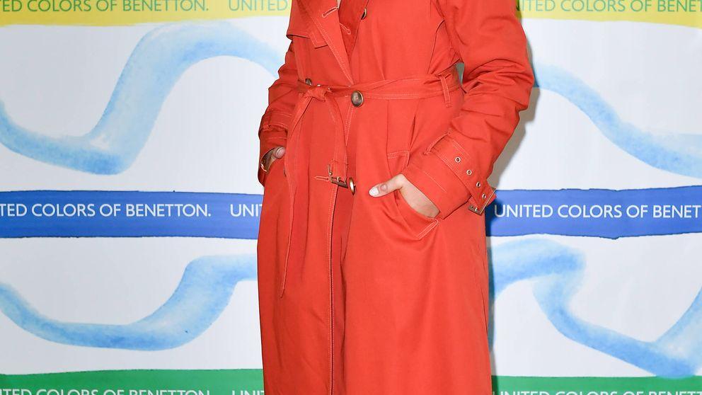 Dulceida tiene un abrigo de Benetton que causará una explosión de color en tu armario