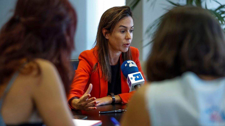 La presidenta de Adif, Isabel Pardo de Vera. (EFE)