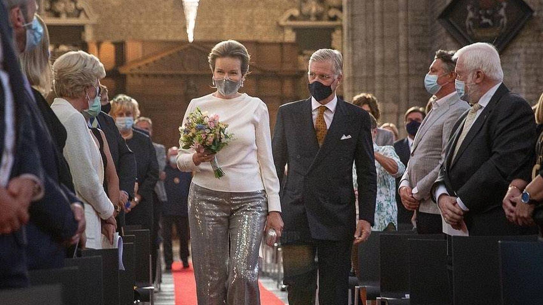 Los reyes Felipe y Matilde de Bélgica. (Instagram @belgianroyalpalace)