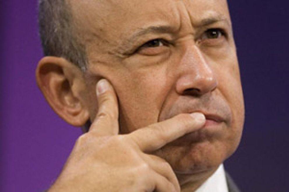 Foto: Blankfein (Goldman Sachs) cobrarM-CM-! un bonus rM-CM-)cord de 100 millones de dM-CM-3lares