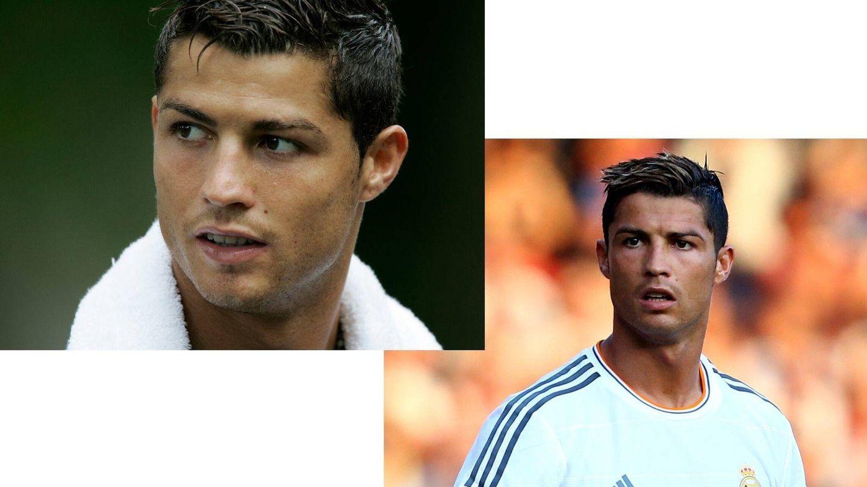 La llegada capilar de Cristiano Ronaldo al Real Madrid. (Getty)