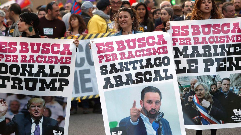 Foto: Manifestación contra el racismo en Barcelona, el pasado marzo. (EFE)